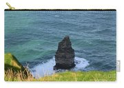 Cliff's Of Moher Needle Rock Formation In Ireland Carry-all Pouch