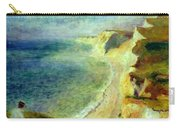 Cliffs On The Coast Near Pourville 1879 Carry-all Pouch