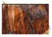 Clinging To Life Carry-all Pouch by Mike  Dawson