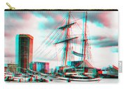 Clipper City - Use Red-cyan 3d Glasses Carry-all Pouch