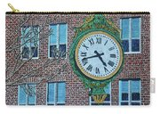 Clock At Port Warwick Carry-all Pouch