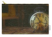 Clock - Id 16218-130715-1843 Carry-all Pouch
