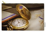 Clockmaker - Time Never Waits  Carry-all Pouch