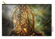 Clockmaker - The Day Time Stood Still  Carry-all Pouch by Mike Savad