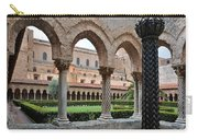 Cloister Of The Abbey Of Monreale. Carry-all Pouch