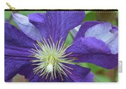 Close Clematis Carry-all Pouch