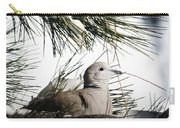Close Up African Collared Dove Carry-all Pouch