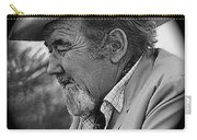 Close-up  Broderick Crawford Ted Degrazias Gallery In The Sun Tucson Arizona 1969-2008 Carry-all Pouch
