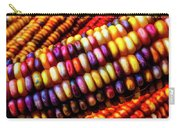 Close Up Indian Corn Carry-all Pouch