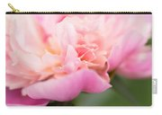 Close Up Macro Peony Flower Carry-all Pouch