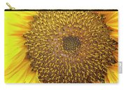 Close Up Of A Sunflower Head Carry-all Pouch