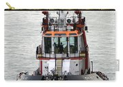 Close Up Of A Tugboat In Venice Harbor Carry-all Pouch