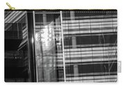 Close Up Of Black And White Glass Building Carry-all Pouch