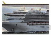 Close Up Of Diamond Princess Carry-all Pouch