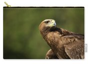 Close-up Of Golden Eagle With Head Turned Carry-all Pouch