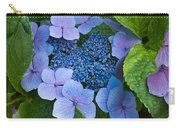 Close-up Of Hydrangea Flowers Carry-all Pouch