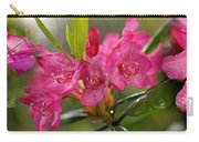 Close-up Of Pink Horatio Flowers Carry-all Pouch