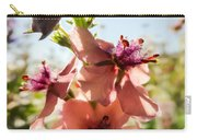 Close-up Of Pink Mullein Flowers Carry-all Pouch