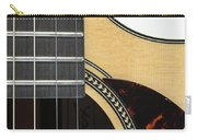 Close-up Of Steel-string Guitar Carry-all Pouch