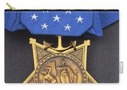 Close-up Of The Medal Of Honor Award Carry-all Pouch