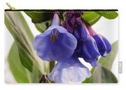 Close-up Of Virginia Bluebells Carry-all Pouch