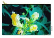 Close Up Of Yellow Wild Flowers Carry-all Pouch