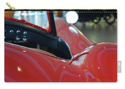 Close Up On Red Sport Car Carry-all Pouch