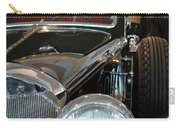 Close Up On Vintage Black Shining Car Carry-all Pouch