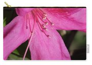 Close Up Pink Lily Carry-all Pouch
