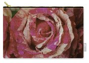 Close Up Pink Red Rose Carry-all Pouch