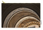 Close-up View Of Moorish Arches In The Alhambra Palace In Granad Carry-all Pouch