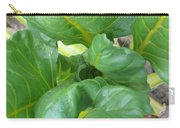Close Up With Chard Carry-all Pouch