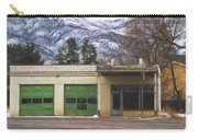 Closed Service Station Painterly Impressions Carry-all Pouch