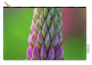 Closeup Of A Pink Lupine Carry-all Pouch