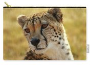 Closeup Of Cheetah Carry-all Pouch