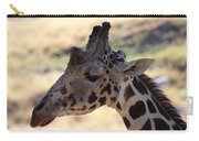 Closeup Of Giraffe Carry-all Pouch
