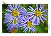 Closeup Of Leafy Bract Asters On Iron Creek Trail In Sawtooth National Wilderness Area-idaho  Carry-all Pouch