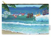 Clothesline At The Beach Carry-all Pouch