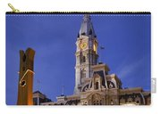 Clothespin And City Hall Carry-all Pouch
