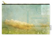 Cloud And Sky On Postcard Carry-all Pouch