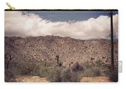 Cloud Blankets Over Joshua Tree Carry-all Pouch