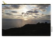 Cloud Break Sunset At  State Natural Reserve In San Diego Carry-all Pouch