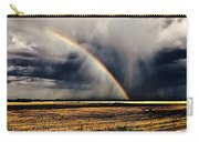 Cloud Burst And Rainbow Early Spring Storm Carry-all Pouch