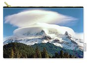 Cloud Capped Mount Hood Carry-all Pouch