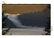 Cloud Fall On Crescent Lake Carry-all Pouch