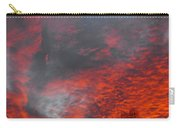 Cloud Fire With Rays Carry-all Pouch