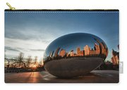 Cloud Gate At Sunrise Carry-all Pouch