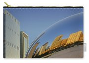 Cloud Gate - Reflection - Chicago Carry-all Pouch