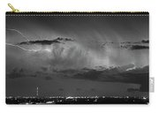 Cloud To Cloud Lightning Boulder County Colorado Bw Carry-all Pouch