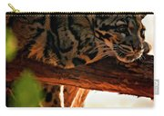 Clouded Leopard II Carry-all Pouch